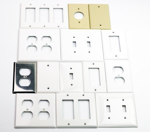 Big MediumSize 80mm x 123.5 mm Safety Plug Socket Coversled Wall Plate Duplex Faceplate