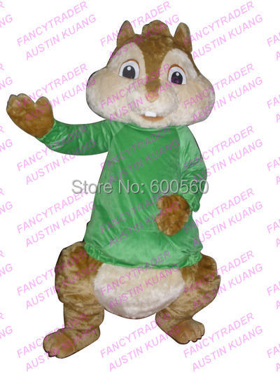Get Quotations · Fancytrader High Quality EVA Deluxe Theodore Mascot Costume Alvin and the Chipmunks Mascot Costume with Fan & Cheap Mascot Costume Hire find Mascot Costume Hire deals on line at ...