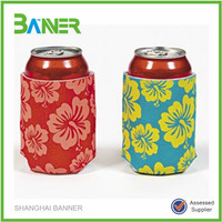 Cheapest logo printed Promotional neoprene beer bottle stubby holder