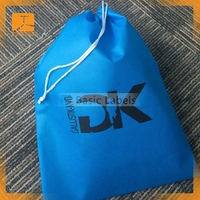 wholesale recyclable promotional fabric cotton bag drawstring