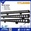 Auto off lamp ip 68 led lamp importer single rows 200W spot flood combo beam led lights buyer