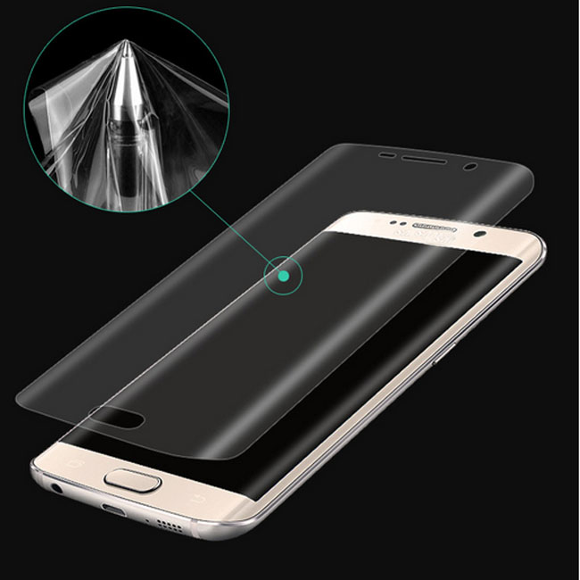 2016 brand new 3d anti-explosion full screen cover PET Hot bending good toughness protective Soft film for lg k7 / <strong>k10</strong> /stylus2