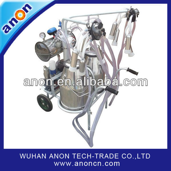 ANON One Cow Milker Machine Portable Milker