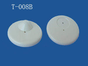 T-008B EAS RF 8.2MHz Supermarket Security Alarm Hard Tag