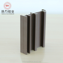 Durable sliding window and door anodized aluminum profiles