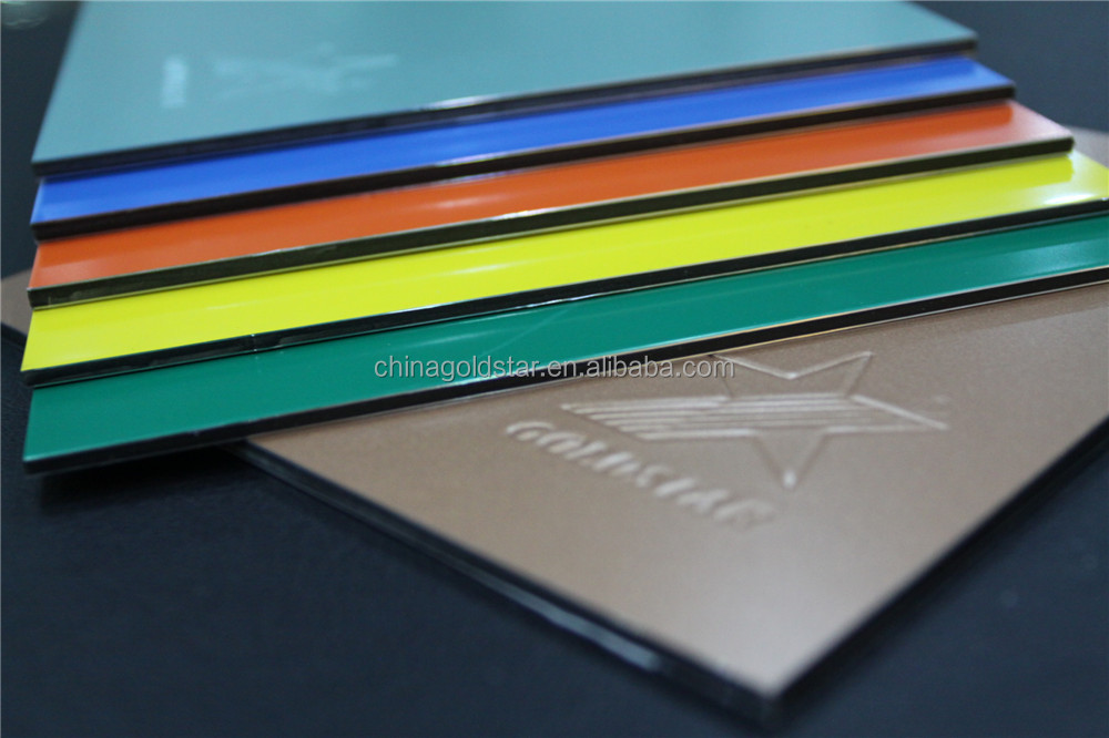 colorful coating Aluminum Composite Panel ACP aluco bond