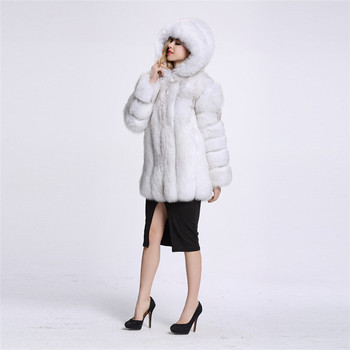 2017 Factory Wholesale Fox Natural Color Fake Fox Fur Women's Gilet / Faux Fox Fur Vest From China