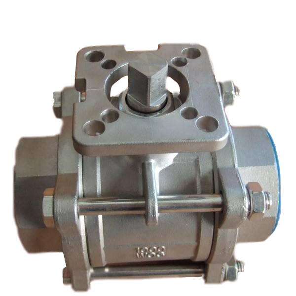 3 Piece Stainless Steel Body <strong>Ball</strong> <strong>Valve</strong> 1000WOG