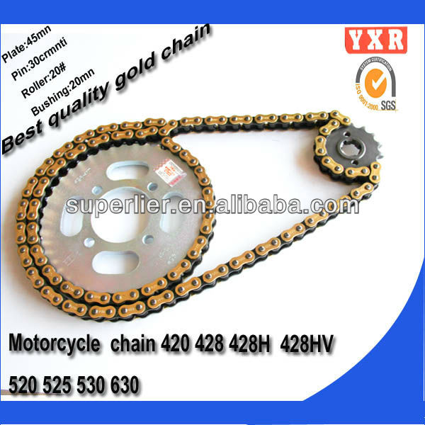 Motorcycle parts chain sprocket,cb400 vtec,new product motorcycle chain drive