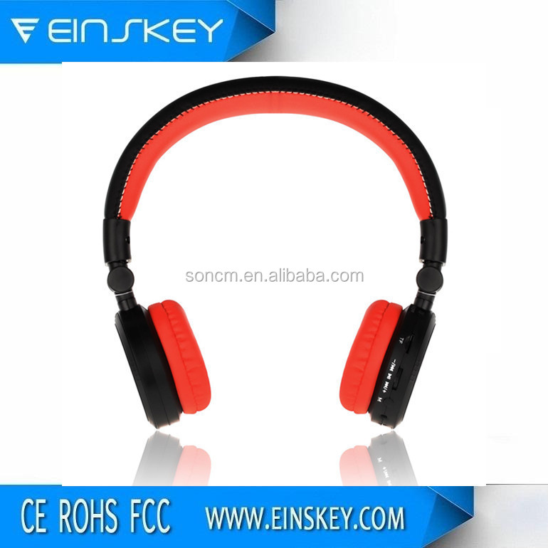 Style fashion Built-in battery Foldable headband bluetooth headphone