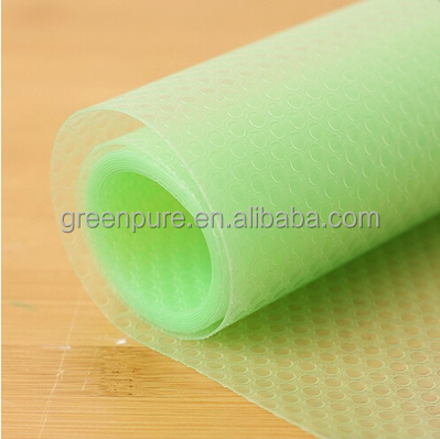 Alibaba on line shopping EVA anti slip mat Kitchen shelf drawer liner table mat