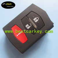 Topbest 2+1 buttons key shell car remote key part shell car key shell