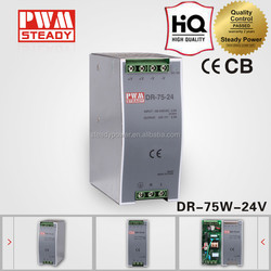 meanwell style 75W Single Output industrial DIN Rail Power LED Drivers