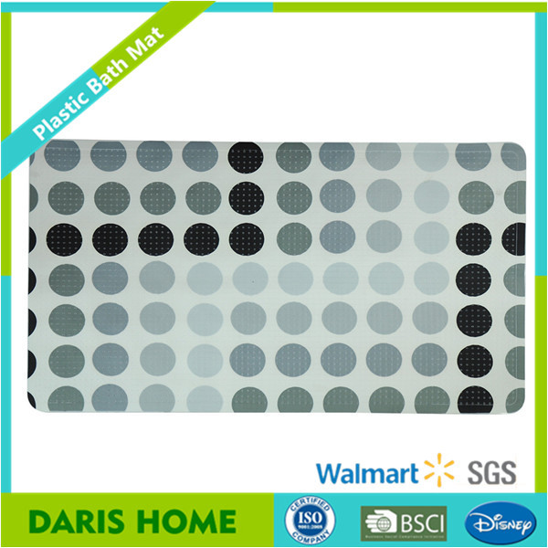 Color Changing No Suction Cup Bath Mat Thin