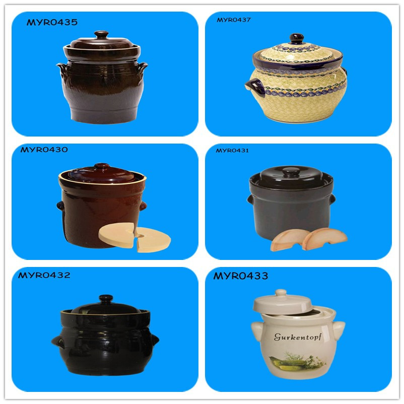 Good Quality Ceramic Pickling and Fermenting Pot