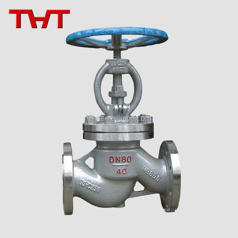 supplier manual stainless steel flange connected globe valve