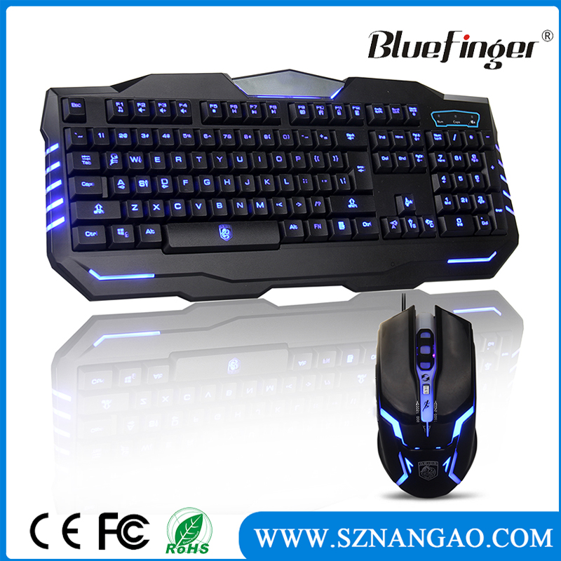 OEM High quality USB wired gaming keyboard and mouse with competitive price