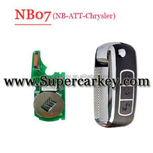 NB07 3 button remote key with NB-ATT-Chrysler model for KD900 machine