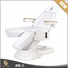 TS-2128F 5 Motors Electric Body Massage Bed Adjustable Facial Chair with Arm Rest and Headrest