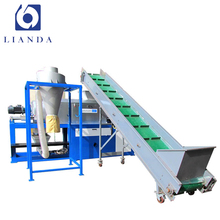 Waste pp pp film plastics recycling and pelletizing machine
