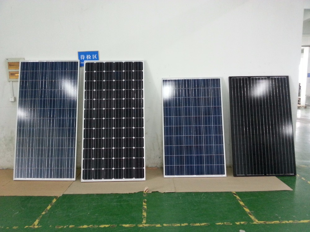 Polycrystalline silicon solar cell 156x156 panel price