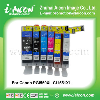 Ink cartridge for Canon 550/551 250/251 450/451 150/151