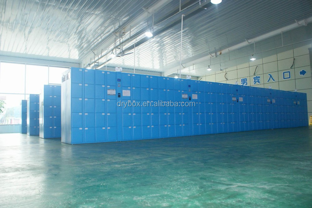 Customized Swimming Pool Metal Locker Electronic Locker