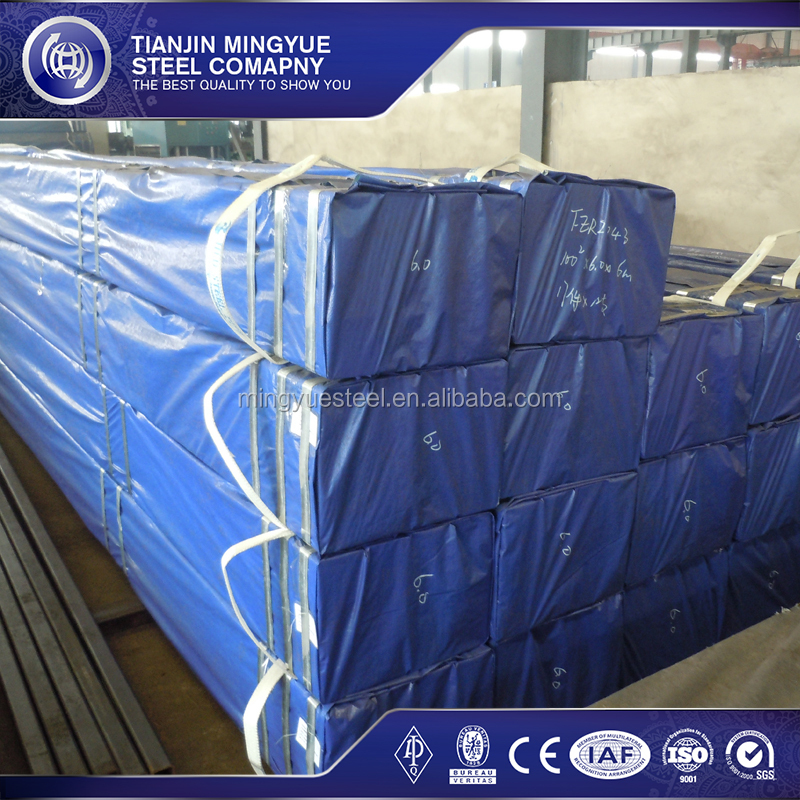 Factory direct supply galvanized steel rectangular hollow section weight