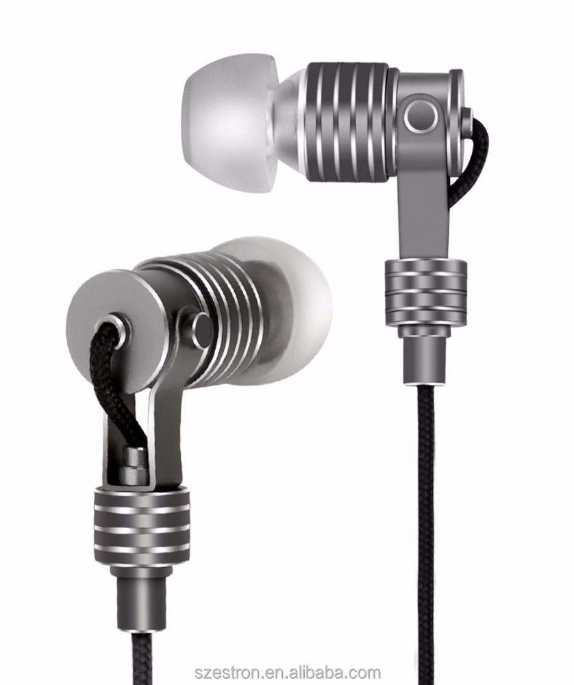High Quality HiFi Metal Earphones for Phones In Ear Headphones