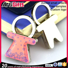 Novelty keyrings cheap cute personalized keychain