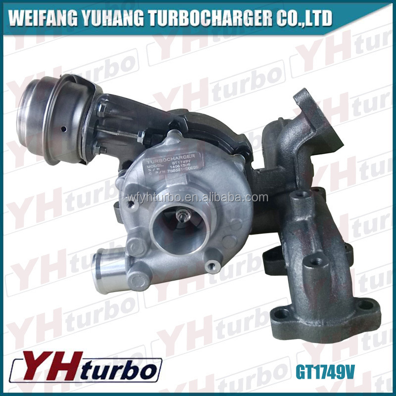 GT1749V turbo kit 768331-5002S turbocharger for Audi Car