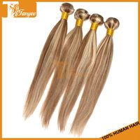 5A Hair China Alibaba Express Hair Weft 100g/pc 2pcs.Set 16 inch Piano Color 8/613 Malaysian Straight Virgin Hair Extens