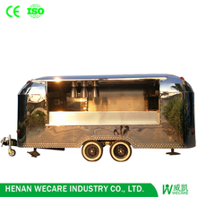 High quality multi-function fast food kitchen mobile food van for sale