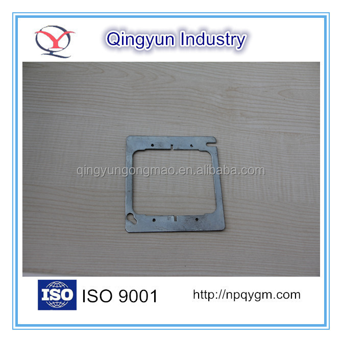 Metal Electrical junction box Square cover