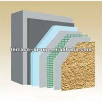 Cement minerals based adhesive and basecoat