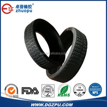 Silicone Rubber Toy Car Tyre For rc Car / Durable Rubber Toy Car Tires