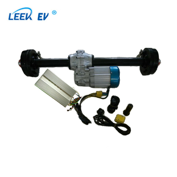 Electric tricycle conversion motor with gear box