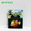Aluminium Foil/flat Bottom Bag For Food Flat With Gravure Printing Printed Pocket Zipper Dry Fruits And Nuts