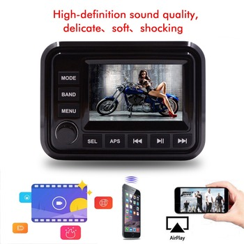 Popular waterproof Golf cart 5 inch touch screen mp5 player H-303A