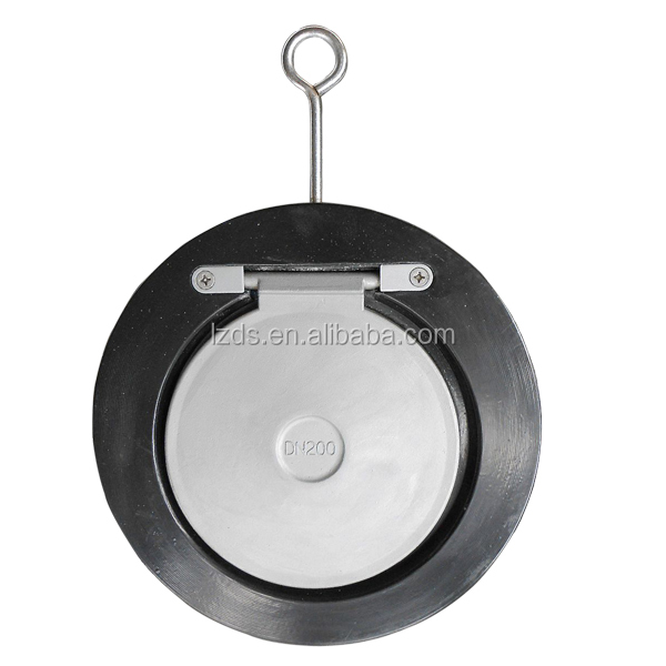 Stainless Steel DIN Wafer Single Disc Swing Flap Check Valve