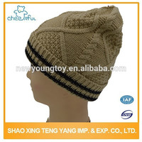 Latest design Fancy Knitted man winter Berets Male Cartoon Characters Beanie Hat