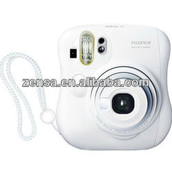 Fujifilm Instant Polaroid Film Camera Fuji Instax Mini 25 White Camera