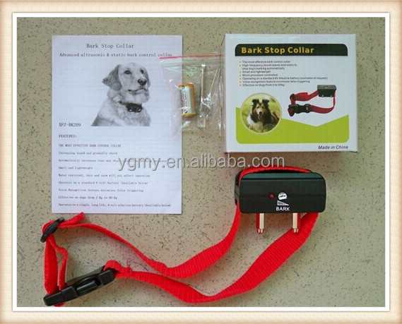 Best Quality Anti Bark Stop No Barking Dog Training Electric Shock Control Collar 28 to 48cm Fit For Train