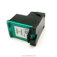 China supplier whoelsale printing inks 135 for HP Deskjet 460 5740 series