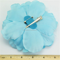 Top grade professional diy satin fabric flower corsage