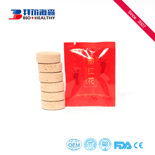 Chinese manufacture organic skin care foot bath effervescent tablets
