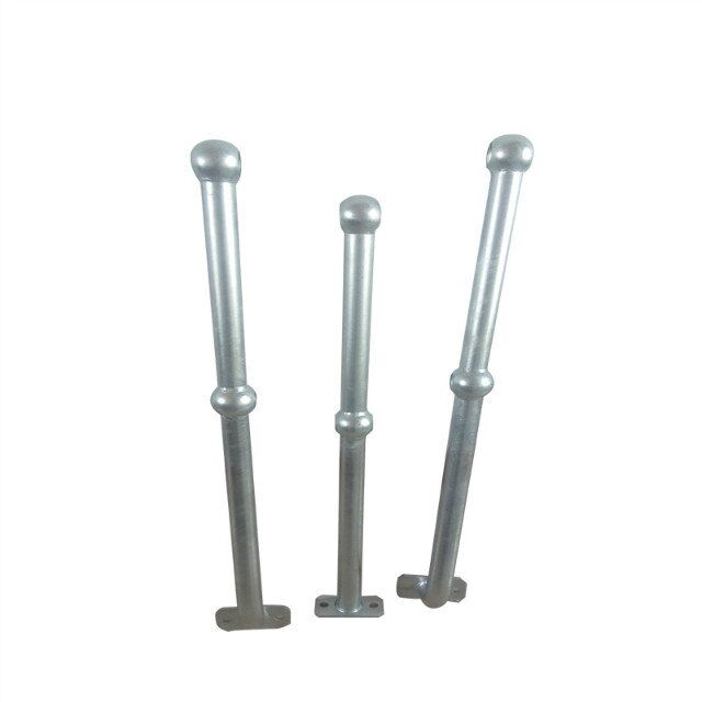 hot dip galvanized <strong>steel</strong> baluster deck ball joint stanchions railings