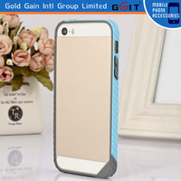 Luxury Double Color TPU Bumper Frame Shell Case Cover For iPhone 5