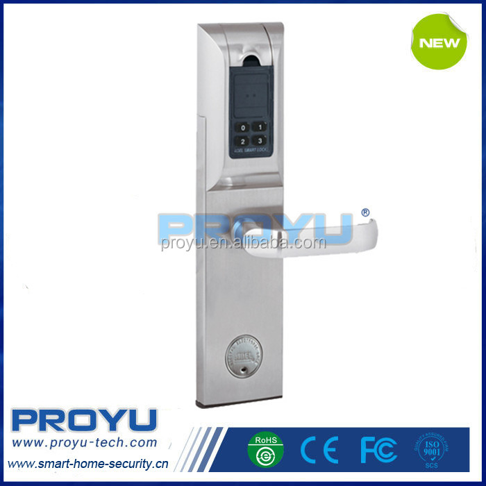 High quality Biometric Digital IC Card Fingerprint Door Lock Electronic Keyless Password Door Lock ADEL 4920