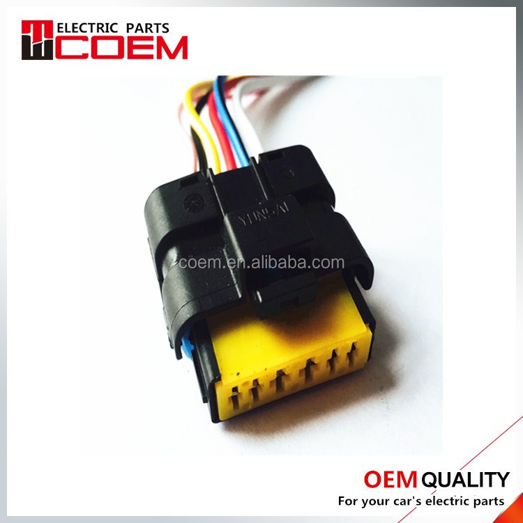 DJ7067Y-1.5 2.8-21 High Quality PA66 FCI auto 6 pins female harness connector toyota/Peugeot/ Citroen wire connector